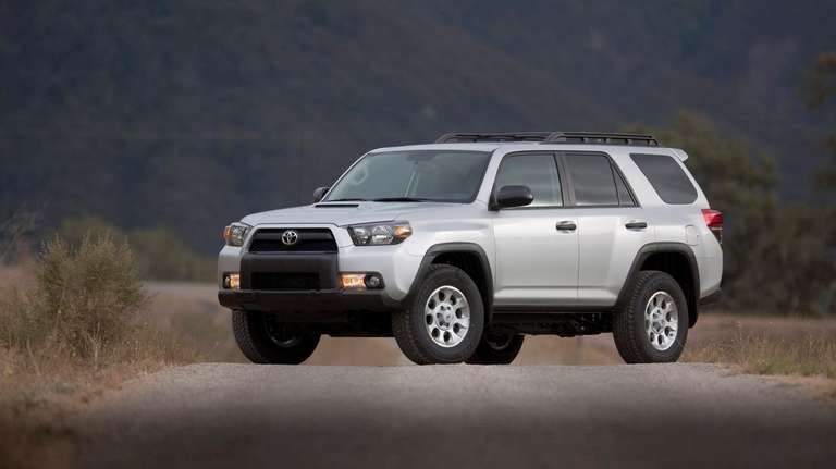 A Toyota 4Runner is shown in this undated