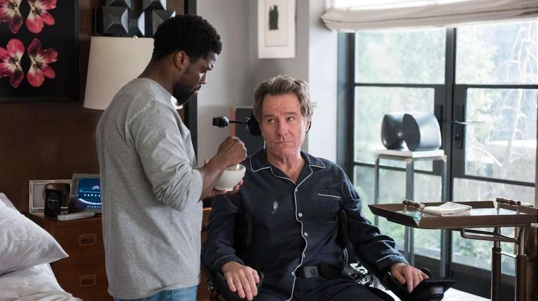 """Kevin Hart and Bryan Cranston in """"The Upside."""""""