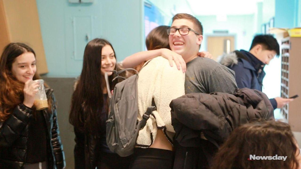 Fifty-three high school seniors in 23 Long Island