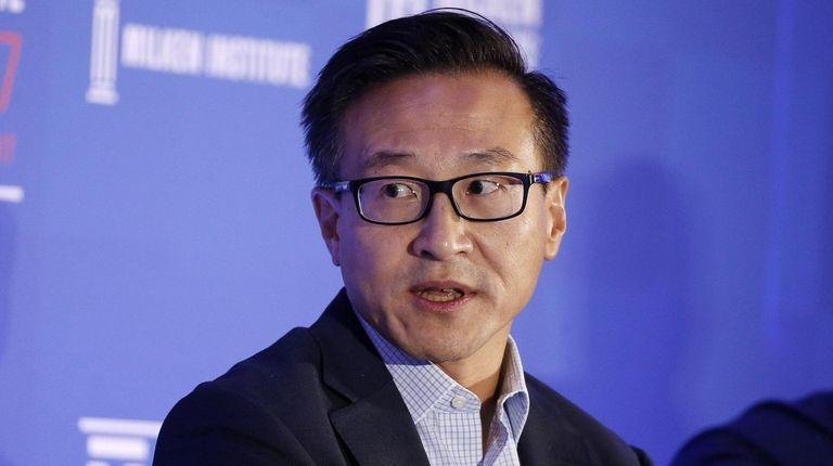 """Joseph """"Joe"""" Tsai, co-vice chairman of Alibaba Group"""