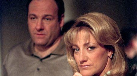 James Gandolfini and Edie Falco were Tony