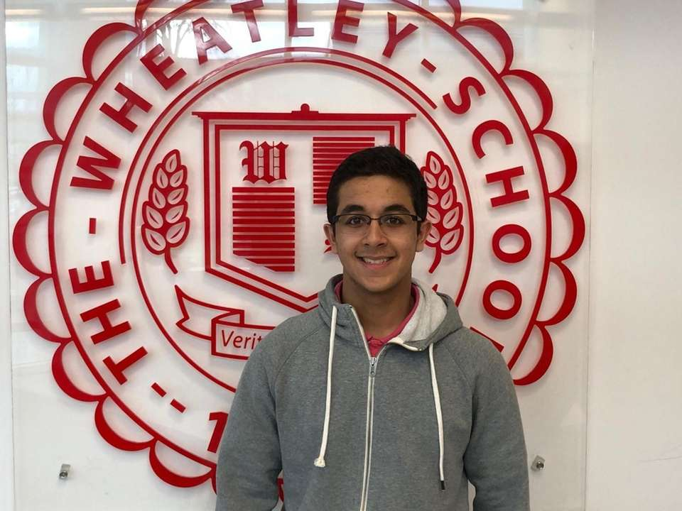 Manan Shukla of The Wheatley School is a