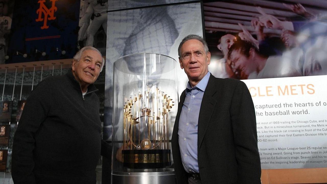 Former Mets stars Ed Kranepool and Art Shamsky