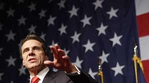 Andrew Cuomo gives his victory speech on election