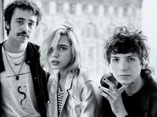 From left: Jacob Faber,Julia Cumming and Nick Kivlen