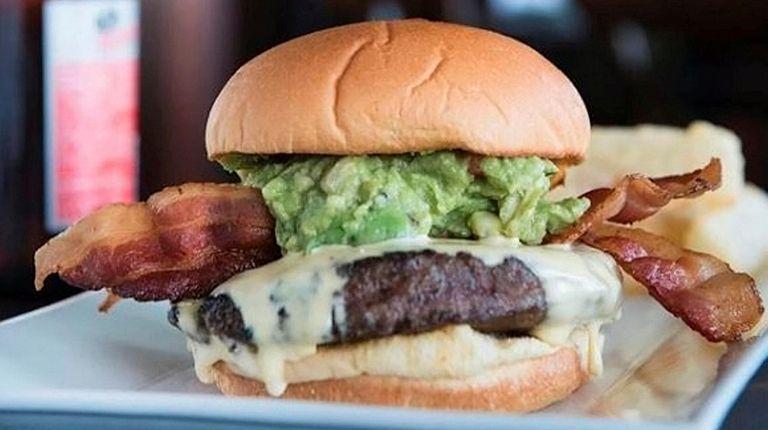 The Union Cantina bacon burger presaged the menu