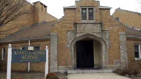 St. Joseph's School in Ronkonkoma on March 10,