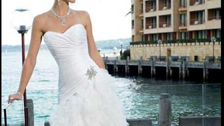 Take 40-50 pecent off bridal gowns, like this