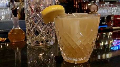 The Sidecar is one of the classic cocktails