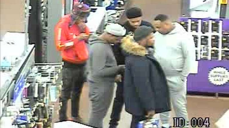 One of the surveillance images released Friday shows