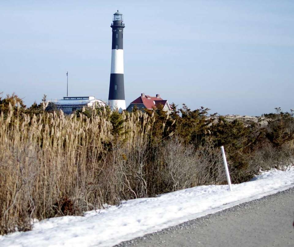 The Fire Island Lighthouse operates year round, illuminating