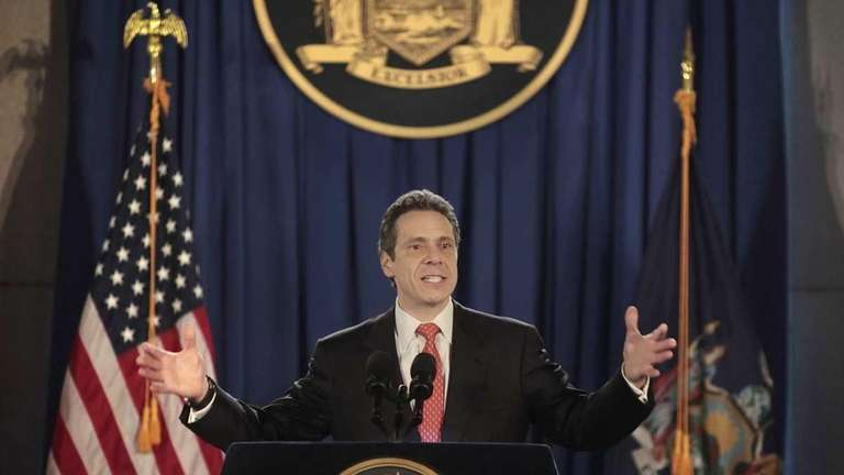 A file photo of New York Gov. Andrew