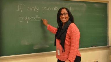 June Martinez, now an English teacher at Half