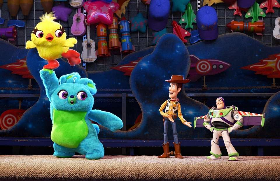 Pixar's original star characters are back for a