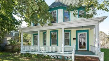 This Greenport Colonial is listed for $749,000.