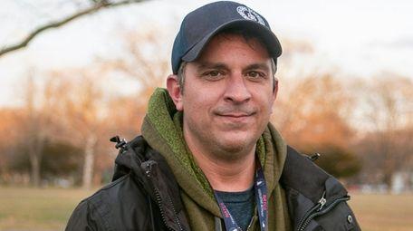 Air traffic controller Patrick Harten, seen on Thursday.