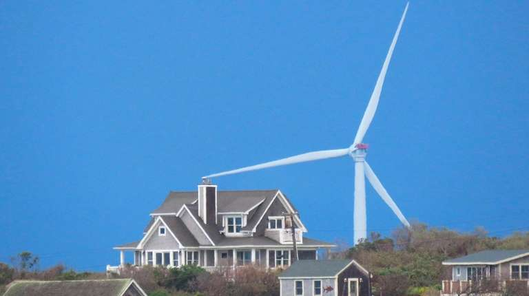 Offshore turbine blades for the Block Island wind
