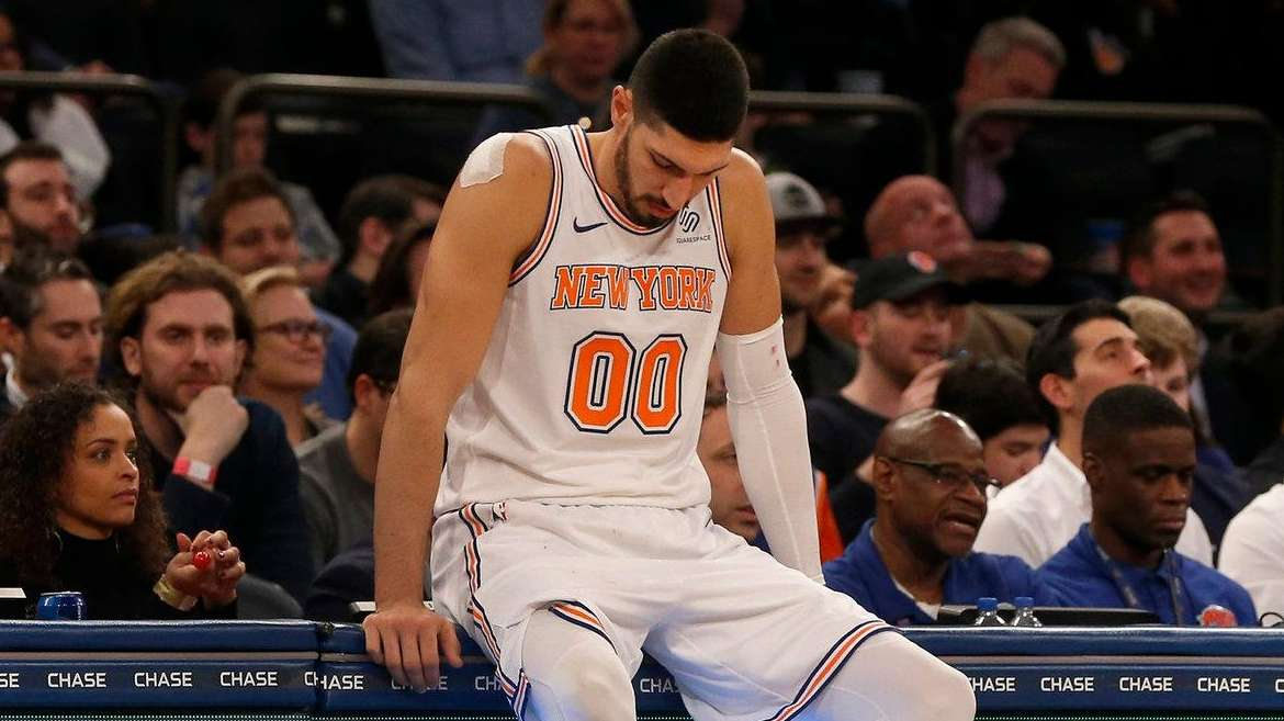 Knicks' Enes Kanter out with flu-like symptoms