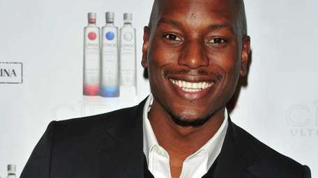 Singer-actor Tyrese Gibson, who stars in the
