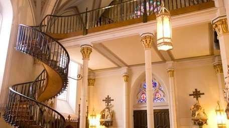 Loretto Chapel's staircase is an architectural marvel.