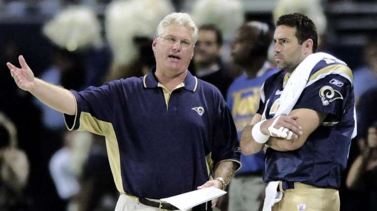 Mike Martz was head coach of the St.