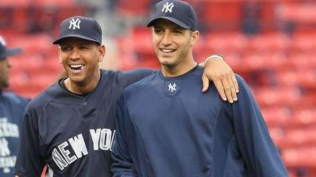 Alex Rodriguez and Andy Pettitte