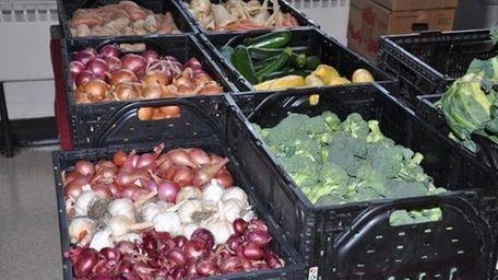 Produce from Madura Farms at the G &