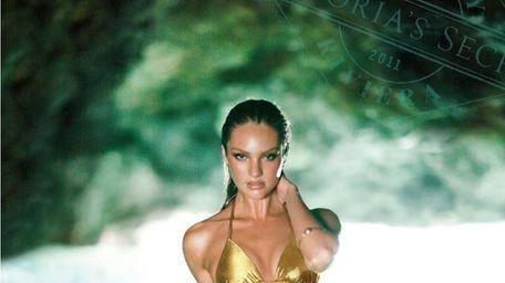 Victoria's Secret model Candice Swanepoel graces the cover