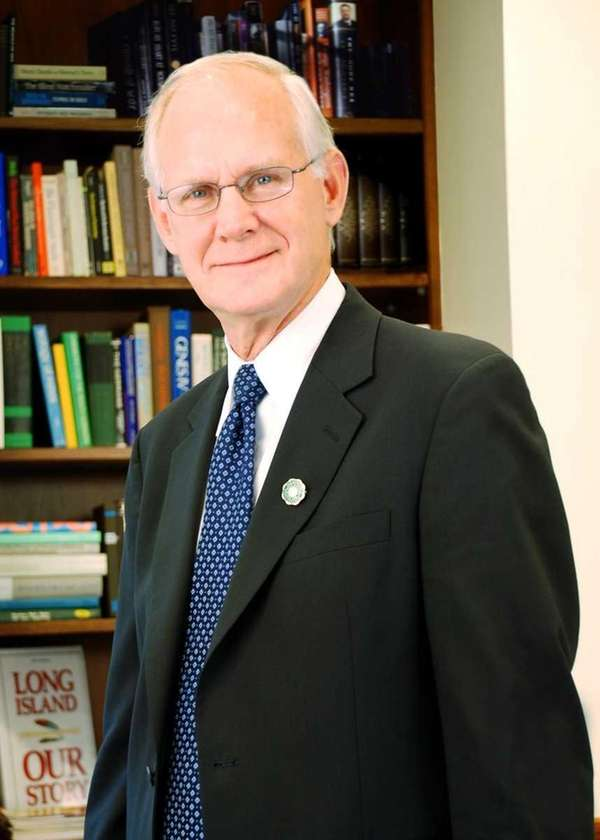 Farmingdale State College President W. Hubert Keen