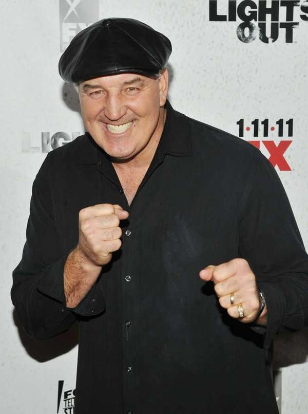 Boxing legend Gerry Cooney attends the premiere of
