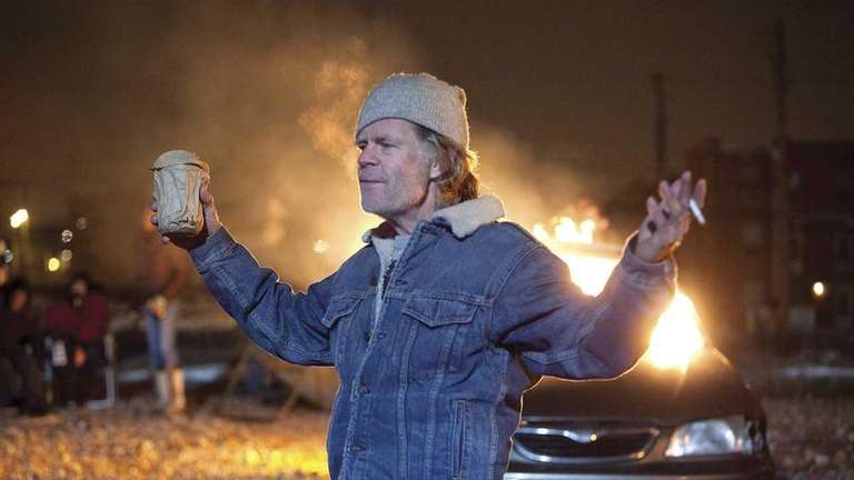 William H. Macy as Frank Gallagher in