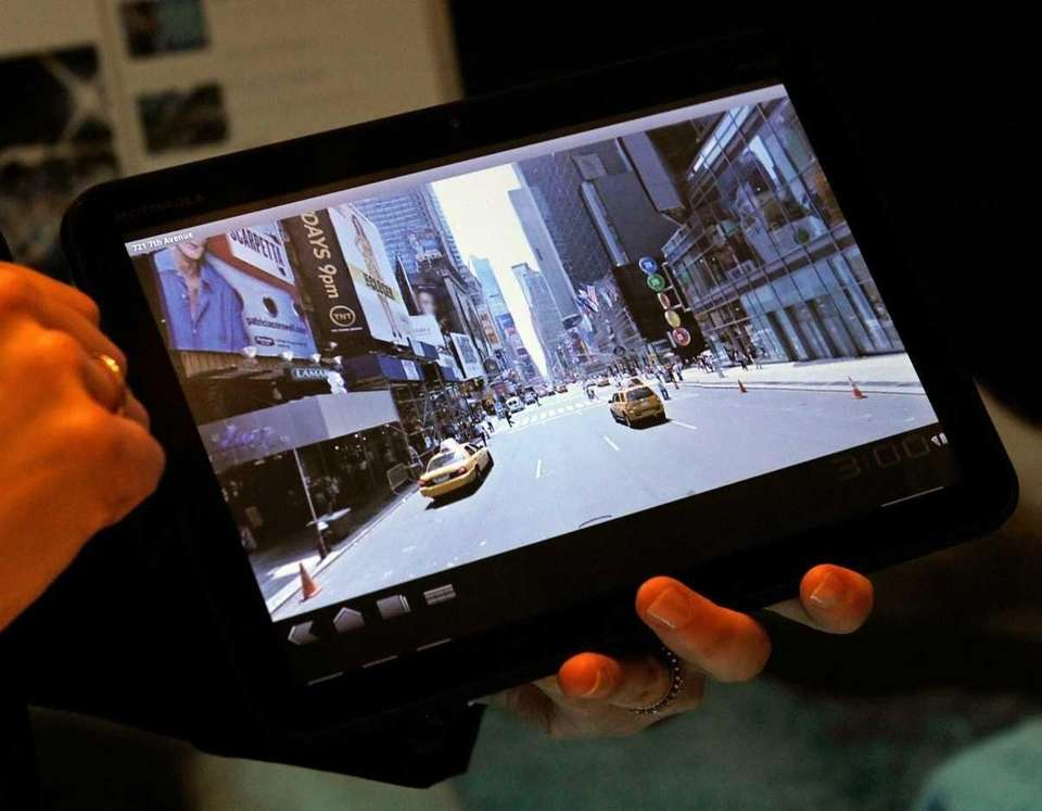 The Motorola Xoom Android Honeycomb tablet is another