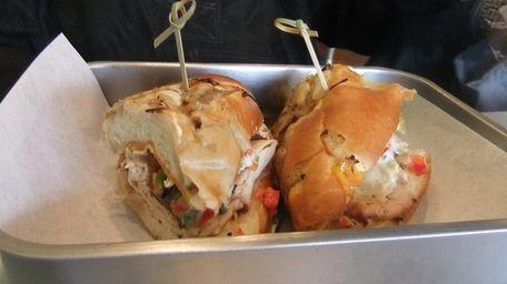 Hickory smoked turkey sandwich at Roast Sandwich House,