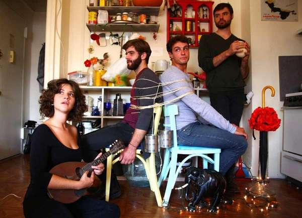Center Moriches-based band Swear and the Shake will
