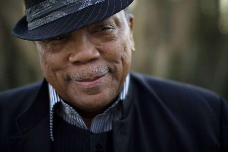 Music producer Quincy Jones is photographed in Bel