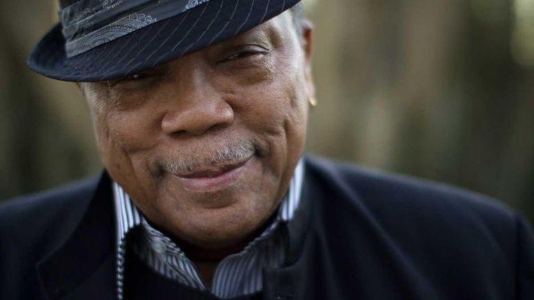 Music producer Quincy Jones is photographed in Bel