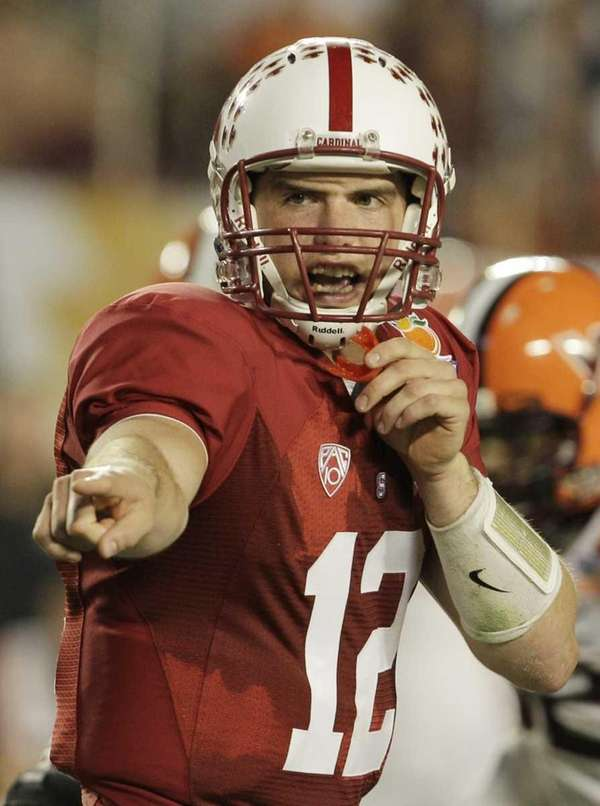 ANDREW LUCK, Stanford Just days after leading Stanford