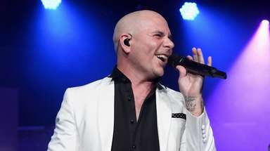 Pitbull is among the performers coming to Univeral