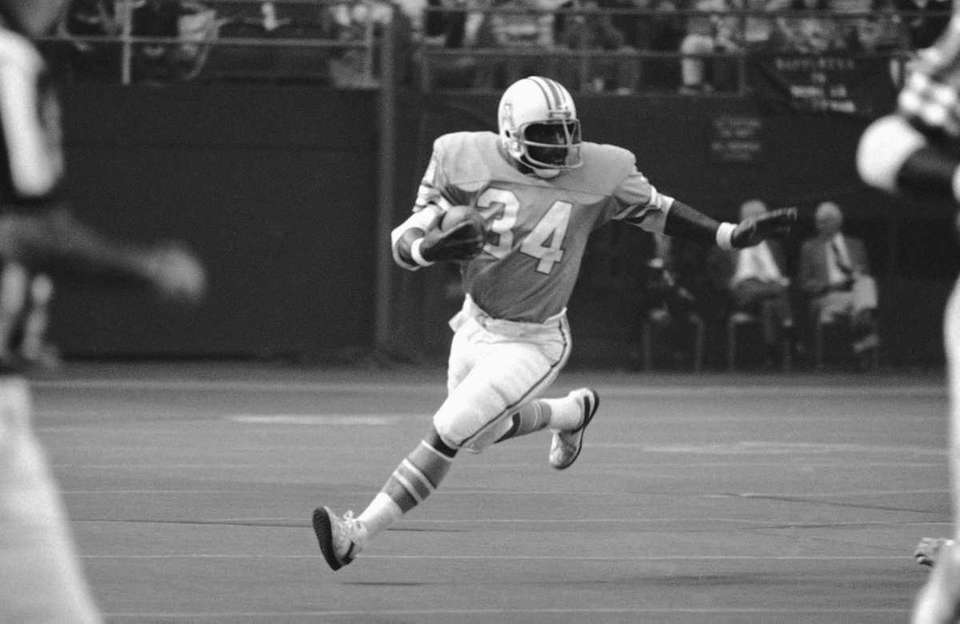 1978: EARL CAMPBELL, RB, Houston Oilers Campbell ran