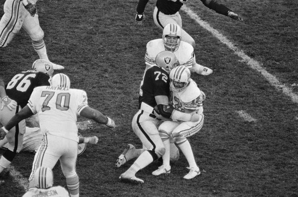 1973: JOHN MATUSZAK, DE, Houston Oilers He played