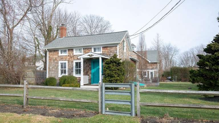 This Southold home, which is just under an