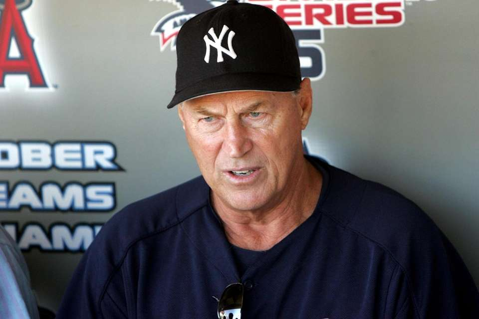 Mel Stottlemyre, the Yankees ace turned pitching coach