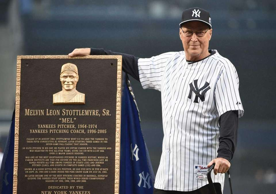 Mel Stottlemyre, the Yankees ace turned pitching coach,