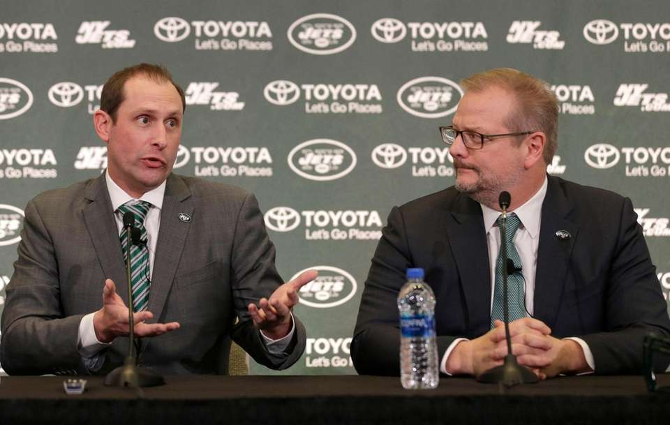 New York Jets new NFL football head coach