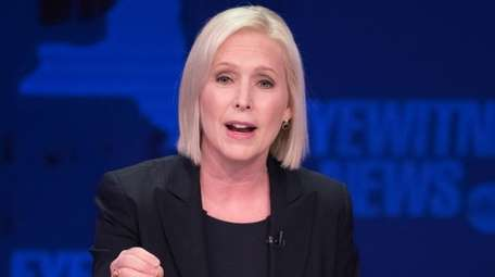 Sen. Kirsten Gillibrand is seen Oct. 25.