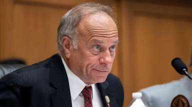 Rep. Steve King (R-Iowa) participates in a Capitol