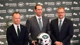The Jets introduced Adam Gase as their head
