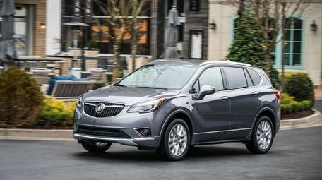 The 2019 Buick Envision offers enhanced safety and
