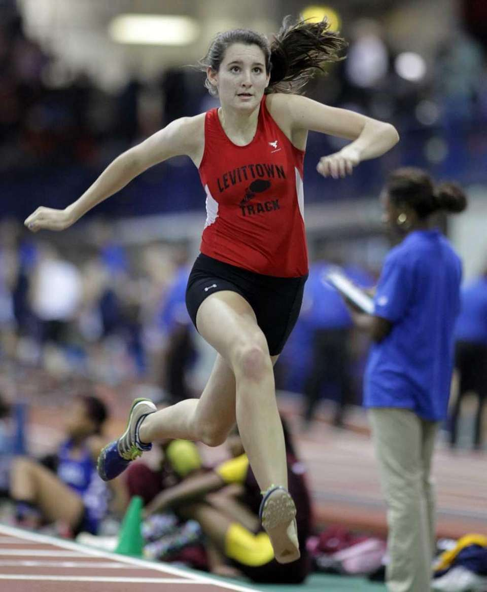 Kelly Clifford of MacArthur won the high jump