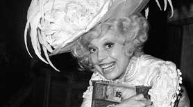"Carol Channing, star of the original ""Hello, Dolly,"""